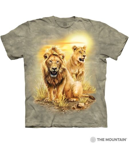 Lion Pair T-shirt | The Mountain®